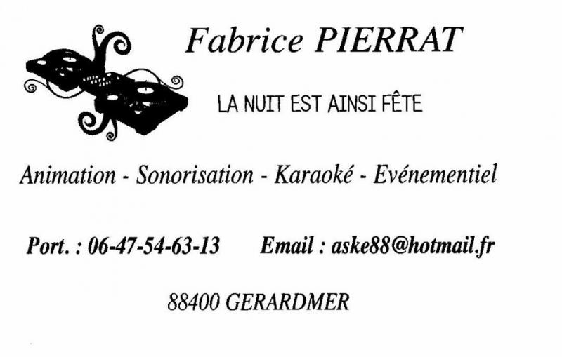 Evénementiel - Gérardmer (88) - Pierrat .Fabrice .Animation